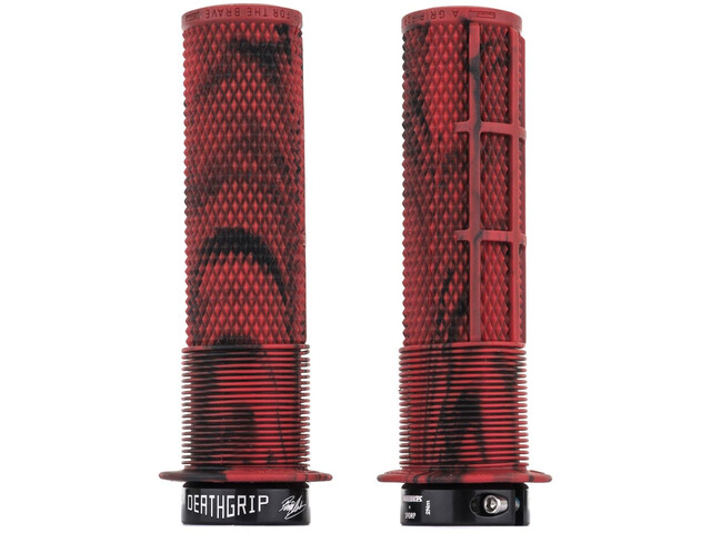 DMR Brendog DeathGrip Lock-On Griffe Ø29,8mm marble red